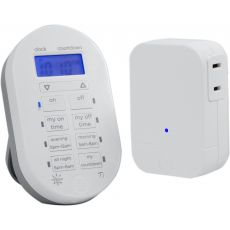 myTouchSmart Wireless Digital Timer System, White